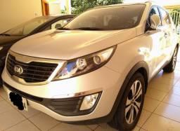 SUV KIA SPORTAGE EX (VERSÃO MAIS COMPLETA) PRATA 2012/13