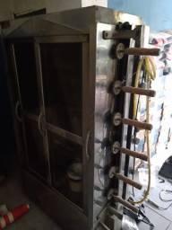 Máquina de frango a gás