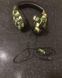 Headset - Camuflado