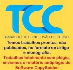 Título do anúncio: TCC ? Trabalhos acadêmicos Artigos e Monografias