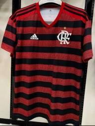 Camisa do Flamengo Rubro Negra 2019 Modelo Torcedor