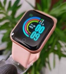Smartwatch Y68 ou D20 2021 Atualizado