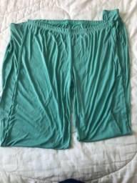 Pijama verde com renda lindíssima Nova