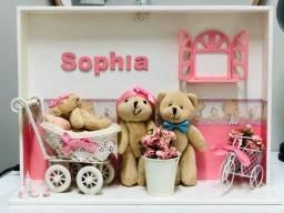 Título do anúncio: Porta maternidade ursinhos