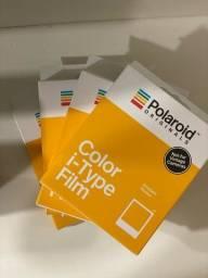 4 Pacotes Lacrados Polaroid Instant Film Color Film da I-TYPE