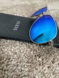 Óculos de sol aviador Guess