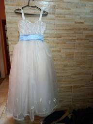 Vestido de Festa Infantil - Daminha