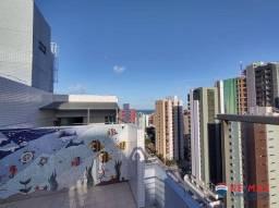 Apartamento com 3 dormitórios para alugar, 85 m² por R$ 1.150,00/mês - Tambaú - João Pesso