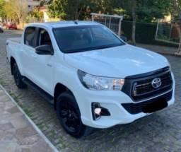 Toyota Hilux SR 2020 estado de nova banco Couro
