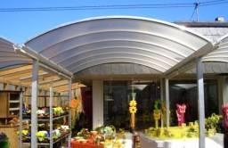 Título do anúncio: Coberturas em policarbonato, projeto residencial, comercial e industrial