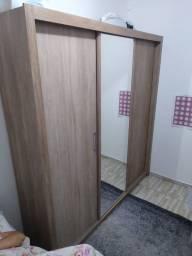 Título do anúncio: Vendo Roupeiro Residence 03 Portas Nogal
