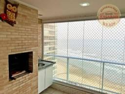 Apartamento com 3 dormitórios para alugar, 91 m² por R$ 3.500,00/mês - Mirim - Praia Grand