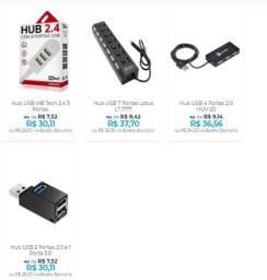 Hub USB conecte vários dispositivos na mesma porta usb - Também serve para celular