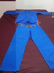 Kimono Jiu Jitsu ou Judô A1 usado uma vez