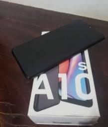 A10s semi novo completo na caixa