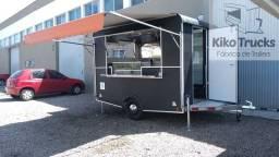 Food Trailer Salgados sob encomenda - fábrica homologada Inmetro e denatran