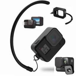 Título do anúncio: Kit GoPro 8 com capa de silicone, películas e protetor de lente