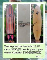 Título do anúncio: Prancha de Surf usada