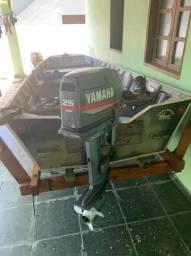 Barco de Almunio 5M motor 25hp