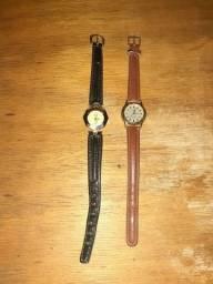 Dois Relógios Femininos Dumont Originais Para Conserto, 50,00 OS Dois