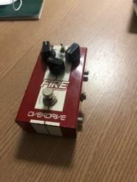 VENDO pedal Overdrive Fire CustomShop - R$ 300