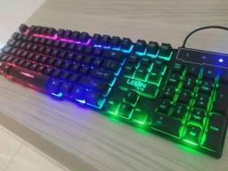 Teclado Retroiluminado Gamer Ak-600