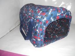Título do anúncio: Bolsa Transporte Pet Com Segurança Adicional (mosquetão) Produto novo