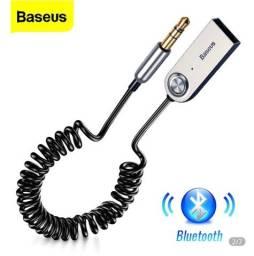Adaptador áudio Bluetooth Baseus ótima qualidade