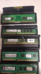 Título do anúncio: Memórias DDR 3 e DDR 4