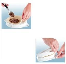 Título do anúncio: Jogo 5 Formas para Pastel Rizolis Keita -c268