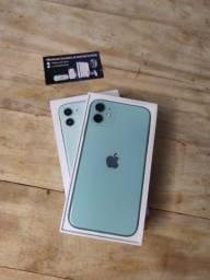 Título do anúncio: Iphone 11, Verde 128GB Semi Novo, Até 18x