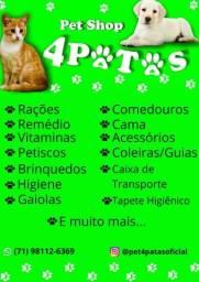 Título do anúncio: Pet Shop 4 Patas