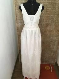 Vestido de noiva NOVO renda decote