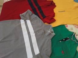 Camisetas semi novas