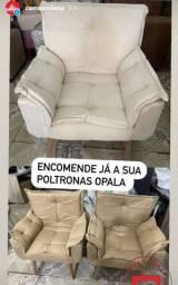 Título do anúncio: PAR DE POLTRONA OPALA LUXO