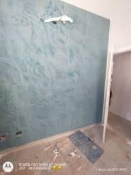Pintor de paredes profissional
