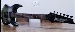 Título do anúncio: Guitarra Ibanez GRG 121 troco por pedaleira da Boss