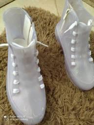 Título do anúncio: Tênis Melissa Sneakers High, original R$50,00