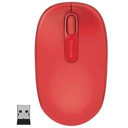 Mouse sem fio Microsoft.