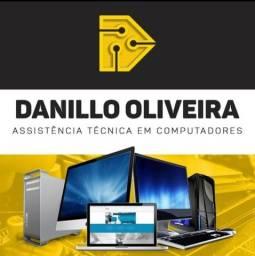 Título do anúncio: Assistência técnica formatação notebook desktop placa peças