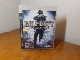 Jogo Call of Duty World at War, PS3