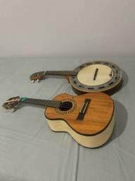 Cavaco Luthier e banjo rozini