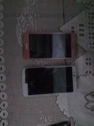 Dois celulares para retirada de peças