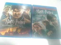 Blu-ray Originais De Harry Potter: Relíquias Da Morte Pt.1&2