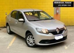 Título do anúncio: Renault Logan Expression 1.6 2019 _ Entrada Apartir  11.500+ 790,00 fixas _ Taxa 0.69% a.m