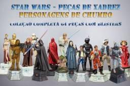 Star Wars Xadrez: Coleção de Personagens Completa