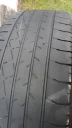 Título do anúncio: Jogo com cinco pneus aro 15