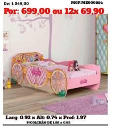 Cama infantil Princesas - Top de Linha - Direto da Fabrica