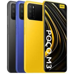Título do anúncio: Xiaomi Pocophone Poco M3 Dual SIM 128 GB cool blue 4 GB RAM