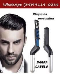 Título do anúncio: Chapinha Modelador E Alisador De Cabelo E Barba Masculino